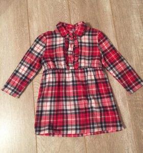 Платье на размер 86(12-18)