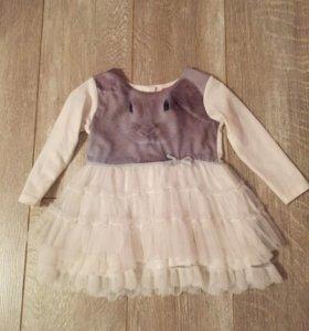 Платье на размер 80
