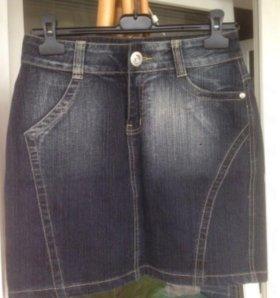 Юбка женская джинсовая.