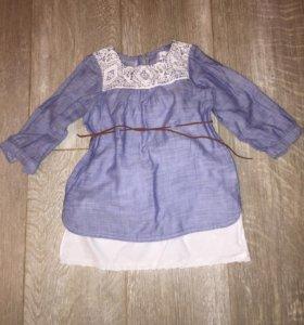 Платье на размер 86