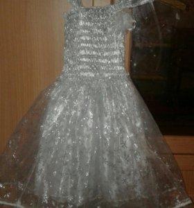 Новогодние платье 3-5лет