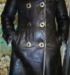 Женское натуральное пальто