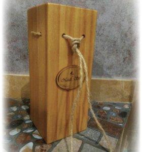 Ящики для вина и цветочных композиций