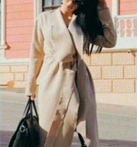 Стильное пальто кашемир