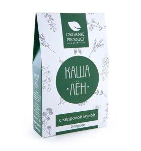 Organic product каши Лён