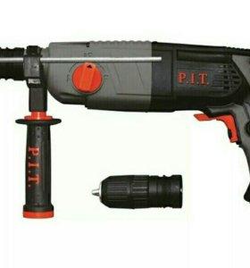 Перфоратор PIT FT( c быстросъемным патроном)