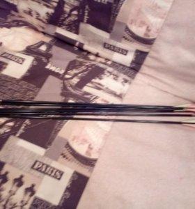Продам стрелы для лука 6 штук