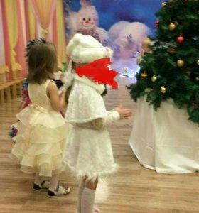 Костюм зайчика-девочки