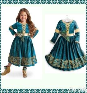 Новогодний костюм, платье Мириды