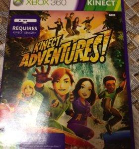 Игра на Xbox 360 Kinect Adventures