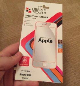 Защитная пленка на iPhone 6