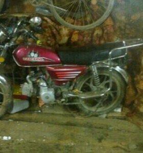 """Мотоцикл-""""Альфа"""""""