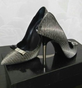Туфли из натур. меха нерпы р 37