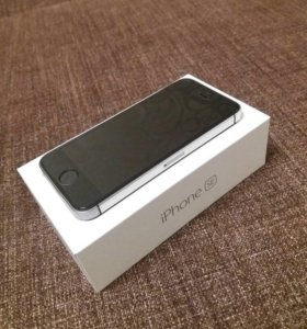 iPhone SE, 32GB, Space Gray