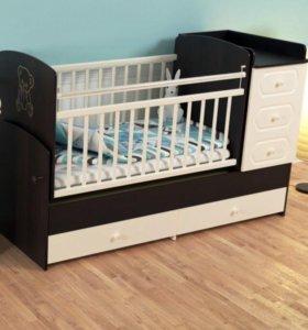 Детские кроватки. Модель 04