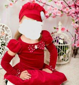 Платье на девочку очень красивое