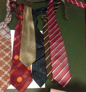 Мужские галстуки, 6 шт, бу