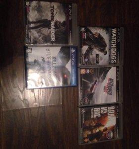Игры на PS3,4