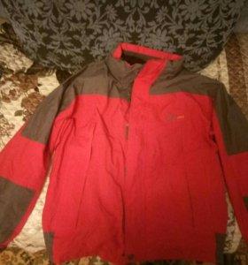 мужская горнолыжная куртка торг
