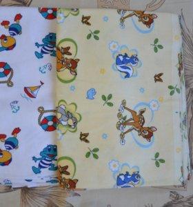 2 пакета детских вещей от 0 до 4 месяцев