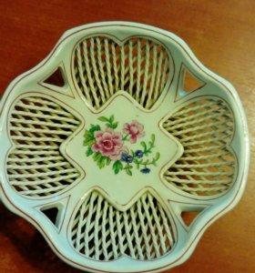Керамическая вазочка для конфет