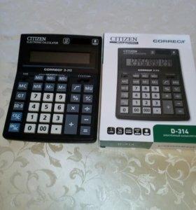 Электронный калькулятор D-314