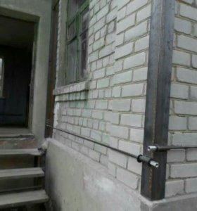 Стяжка фасадов домов