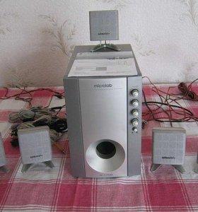 Акустика +саб 5.1 Microlab M-1700 69 Вт