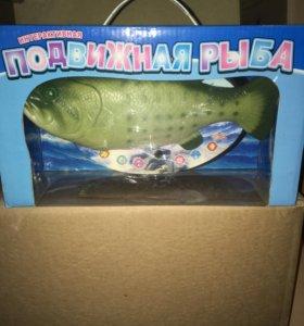 Интерактивная рыбка