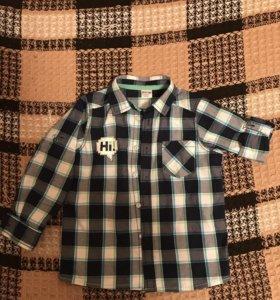 Рубашка для мальчика р.104