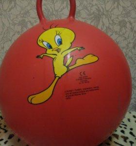 Детский надувной мяч-прыгунок