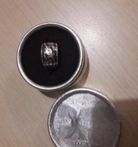 Кольцо серебро 925 кубачи черненое