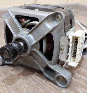 Двигатель на стиральную машинку samsung б.у.