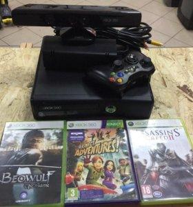 Microsoft Xbox 360 E 4 ГБ + Kinect
