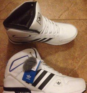 Кроссовки с мехом Adidas