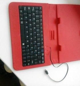 Чехол на планшет с клавиатурой