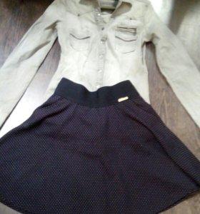 боди + юбка