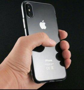 iPhone X новый чехол Full Clear