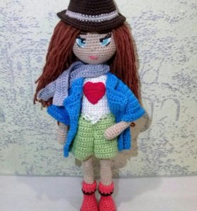 Кукла леди - ручная работа!