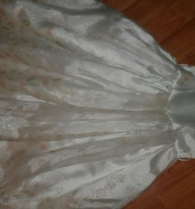 Платье + шубка