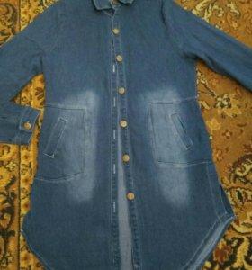 Туника джинсовая