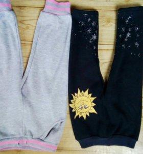 Теплые штанишки на 2-3 г