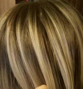 Парикмахер стрижки,окрас волос ,прически