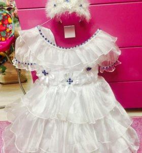 Платье снежинки ❄️