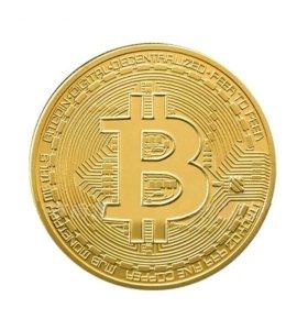 Монета-символ Биткоин Bitcoin