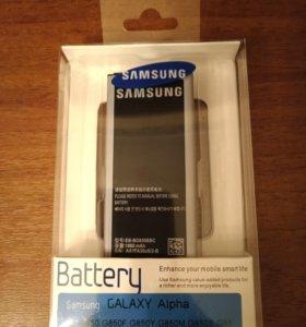 Аккумулятор Samsung Alpha g805f