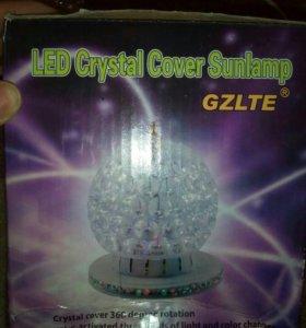 Световой, крутящийся лазерный модуль