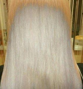 Кератиновое выпрямление волос.Ботокс для волос.