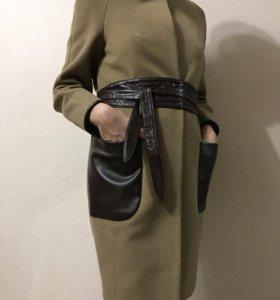 Пальто + шарф в подарок
