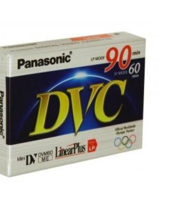 Кассета Mini DV 60мин. б/у Panasonic